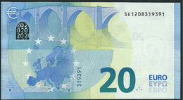 € 20  ITALIA SE S006 A2  DRAGHI  UNC - EURO