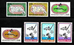 HAITI  N° 824 /30  * *   Jo 1984 Course  Haies  Saut En Longueur Hauteur Javelot - Summer 1984: Los Angeles