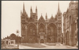 Peterborough Cathedral, Northamptonshire, C.1930 - King's Lodging RP Postcard - Northamptonshire