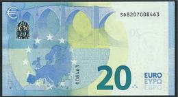 € 20  ITALIA SD S006 H3  DRAGHI  UNC - EURO