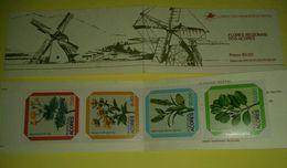 Portogallo Libretto Flores Acores 4 Francobolli Selos Nuovo Mulino A Vento - Libretti