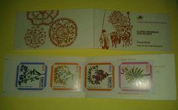 Portogallo Libretto Flores Acores 4 Francobolli Selos Nuovo - Libretti