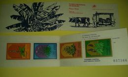 Portogallo Libretto Flores Madeira 4 Francobolli Selos Nuovo Buoi - Libretti