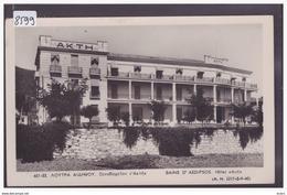 GRECE - BAINS D'AEDIPSOS - CARTE CIRCULEE AVEC TIMBRE - TB - Greece