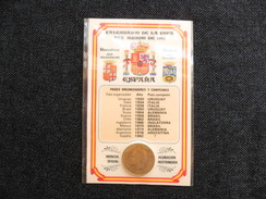 TARJETAS CALENDARIOS COLECCION   MUNDIAL  FÚTBOL `82 CON PESETA OFICIAL S/C - [ 8] Collections