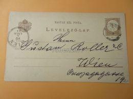 Wien Austria Lugos Lugoj Romania Hungary Postcard 1884 - Roumanie