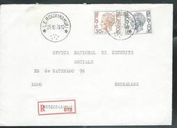 Doc.  De  LEROUX (NAMUR)  Le 25/10/1979  En Rec. De Fosses-La-Ville - Marcophilie