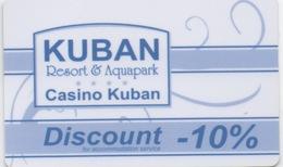 Casino Kuban Resort & Aquapark : Sunny Beach Resort Bulgarie - Casino Cards