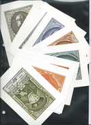 Carte  Vierge Sans Timbre Des N° 880/890  Soit 11 Cartes  UPU - Maximum Cards