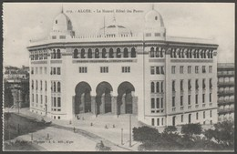 Le Nouvel Hôtel Des Postes, Alger, Algerie, C.1910 - Régence CPA - Algiers