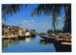 VIETNAM - THE HOI AN RIVER - PHOTO HOANG DUC THUR - 1970s ( 1631 ) - Cartes Postales