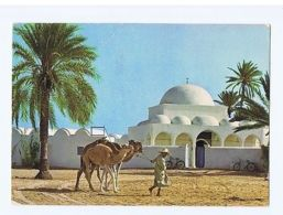 TUNISIA - DJERBA - THE MOSQUE OF MAHBOUBINE - EDIT KAHIA - STAMPS -1976 ( 1650 ) - Cartes Postales