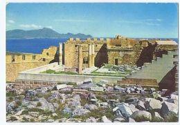 GREECE - RHODES / RODI - ACROPOLIS OF LINDOS - 1970s  ( 1724 ) - Cartes Postales