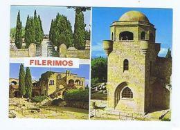 GREECE - RHODES / RODI - FILERIMOS - 3 SIGHTS - 1970s  ( 1709 ) - Cartes Postales