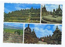 INDONESIA - CENTRAL JAVA - BOROBUDUR TEMPLE- 1960s/70s  ( 1612 ) - Cartes Postales