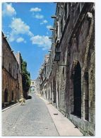 GREECE - RHODES - STREET OF THE KNIGHTS - EDIT ELAFOS - STAMPS - 1970s ( 1663 ) - Cartes Postales