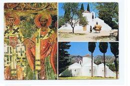 GREECE - CRETE - KRITSA - CHURCH OF ST. VIRGIN KERA - 3 SIGHTS  ( 1721 ) - Cartes Postales
