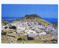 GREECE - RHODES / RODI - VIEW OF LINDOS - 1970s  ( 1701 ) - Cartes Postales