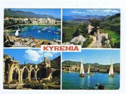 GREECE - CYPRUS - KYRENIA - 4 SIGHTS - 1970s ( 1717 ) - Cartes Postales