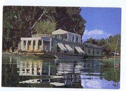 KASHMIR - A HOUSE BOAT ON THE NAGIN LAKE - SRINAGAR - 1962  ( 1603 ) - Cartes Postales