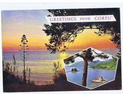 GREECE - KERKIRA / CORFU - VIEW - EDIT FOTOTECHNICA - 1960s ( 1727 ) - Cartes Postales