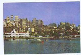 BRAZIL - SALVADOR - VISTA PARCIAL DO PORTO E DA CIDADE - STAMP 1966 ( 1667 ) - Cartes Postales