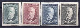 CZECHOSLOVAKIA 1930, MNH  ,  T.G.MASARYK - Tchécoslovaquie