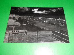 Cartolina Rimini - Piazzale Tripoli - Notturno 1953 - Rimini