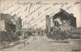 CPA - ABANCOURT (NORD)- APRES LA GUERRE - LA MAIRIE ET LES ECOLES - PHOT. COURTOT EDIT. SEGARD - France
