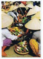 VIETNAM - AN EXTEMPORE MARKET - PHOTO HOANG DUC THUR - 1970s ( 1620 ) - Cartes Postales