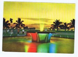 PHILIPPINES -  MANILA - THE FOUNTAIN OF THE DANCING WATERS - 1960s ( 1625 ) - Cartes Postales