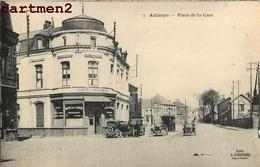 AULNOYE PLACE DE LA GARE CAFE CENTRAL HOTEL 59 - Aulnoye