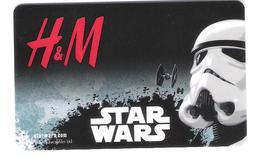 Germany - Allemagne - H&M - Star Wars - Carte Cadeau - Carta Regalo - Gift Card - Geschenkkarte - Frankreich