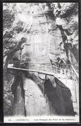 CPA 74 - Annecy,  Les Gorges Du Fier Et La Galerie - Annecy