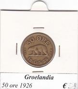 GROENLANDIA   50 ORE  ANNO 1926  COME DA FOTO - Greenland