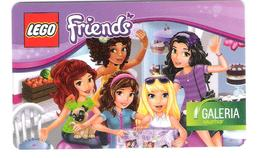 Germany - Allemagne - Galeria - Lego - Friends - Carte Cadeau - Carta Regalo - Gift Card - Geschenkkarte - Gift Cards