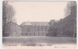 LA LOUVIERE. Institut Saint Joseph Cour Des Internes - La Louvière