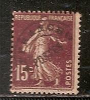 FRANCE  PREOBLITERE   N°  53    OBLITERE - 1893-1947