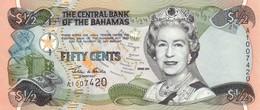 BAHAMAS 1/2 DOLLAR 2001 P-68 NEUF [BS334a] - Bahamas