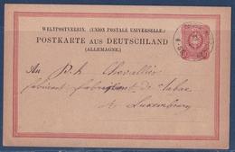 EP Allemand Gross Hettingen 1879 Hettange Grande Moselle Pour Luxembourg - Altri Comuni