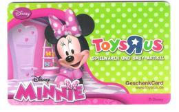 Germany - Allemagne - Toys R Us - Disney Minnie Mouse - Comic - Carte Cadeau - Carta Regalo - Gift Card - Geschenkkarte - Frankreich