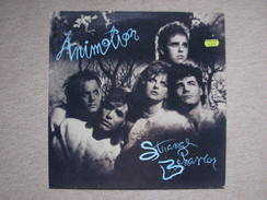 ANIMOTION - STRANGE BEHAVIOR (LP) (POLYGRAM 1986) - Rock