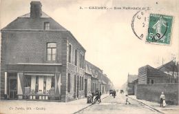 59-CAUDRY-RUE NATIONALE-N°R2045-H/0373 - Caudry