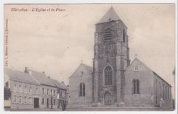 ELLEZELLE. L'Eglise Et La Place - Ellezelles