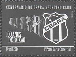 BRAZIL 2014 Ceara Sport Club Football Soccer - Brasil