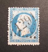 LOT R1631/733 - NAPOLEON III N°22 - GC 1291 DENAIN (Nord) INDICE 3 - 1862 Napoleon III