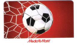 Germany - Allemagne - Media Markt - Carte Cadeau - Carta Regalo - Gift Card - Geschenkkarte - Fussball - Football - Gift Cards