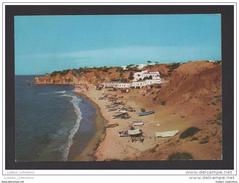 OLHOS DE AGUA 1960 YEARS PORTUGAL ALGARVE ALBUFEIRA PRAIA PLAGE BEACH POSTCARD - Faro