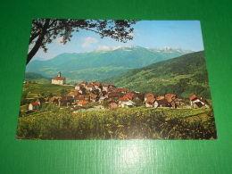 Cartolina Tualis Di Comeglians - Val Degano - Scorcio Panoramico 1975 - Udine