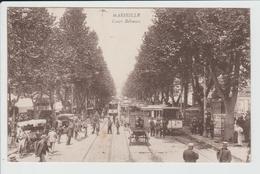 MARSEILLE - BOUCHES DU RHONE - COURS BELZUNCE - TRAMWAY - Canebière, Centre Ville